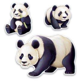 Cutouts Panda (3PCS)