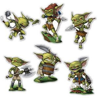 Cutouts - Goblin ( 4 Pk)