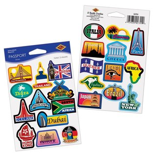 Passport Stickers