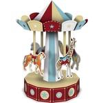"""Centerpiece-3D-Vintage Circus Carousel-1pkg-10"""""""