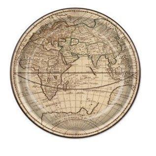 Plates LN - Around The World (8PK)