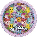 """Luncheon Paper Plates-Hatchimals-8pk-8.625""""-Discontinued"""