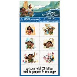 Tattoos- Moana- 24pk