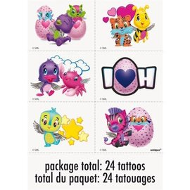 Tattoos- Hatchimals- 24pk
