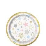Beverage Paper Plates-Twinkle Twinkle Little Star