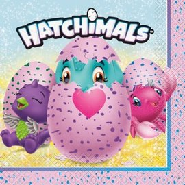 Lunch Napkins- Hatchimals- 16pk/2ply- Discontinued
