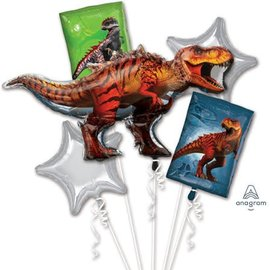 Foil Balloon Bouquet (5PK) Jurassic World