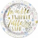 Luncheon Paper Plates-Twinkle Twinkle Little Star