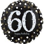 Foil Balloon -Supershape- 60th Birthday