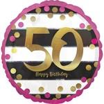 Foil Balloon- 50th Birthday- 18'