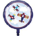 "Foil Balloon- Lil' Flyer Airplane- 18"""