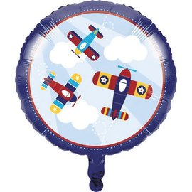 Foil Balloon- Lil' Flyer Airplane- 18""