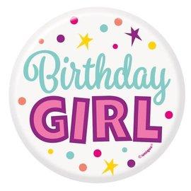 Button - Birthday Girl
