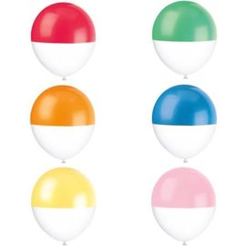 Balloons- Latex- Tone Dipped- 6pk