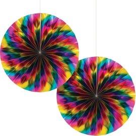 Paper Fan - Rainbow Foil