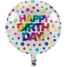 """Foil Balloon - Rainbow Foil - 18"""""""