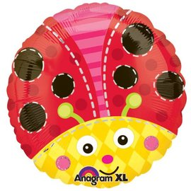 "Foil Ballon - Ladybug - 18"""