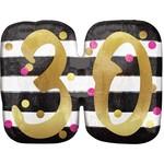 Foil Balloon-Supershape-30th Birthday
