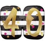 Foil Balloon-Supershape- 40th Birthday