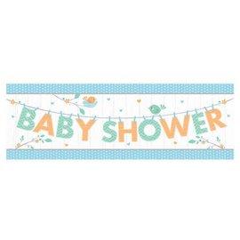 Banner Plastic - Hello Baby Boy