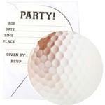 Invitations-Sport Fanatic- Golf-8pk