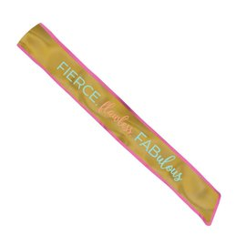 Fabric Sash- Confetti Fun- 1pc