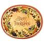 "Dinner Paper Plates- Thanksgiving Medly- 8pk/12x10"""
