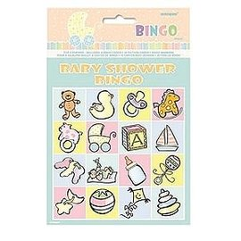Bingo game - Baby shower