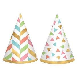 Mini Cone Hats- Confetti Fun