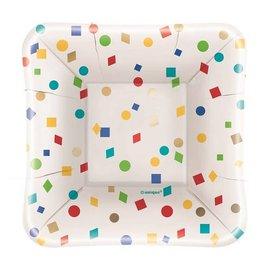 Appetizer Paper Plates-Party Diamonds