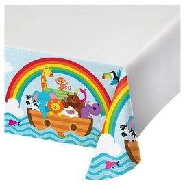 """Tablecover - Noah's Ark- 54"""" x 102"""""""