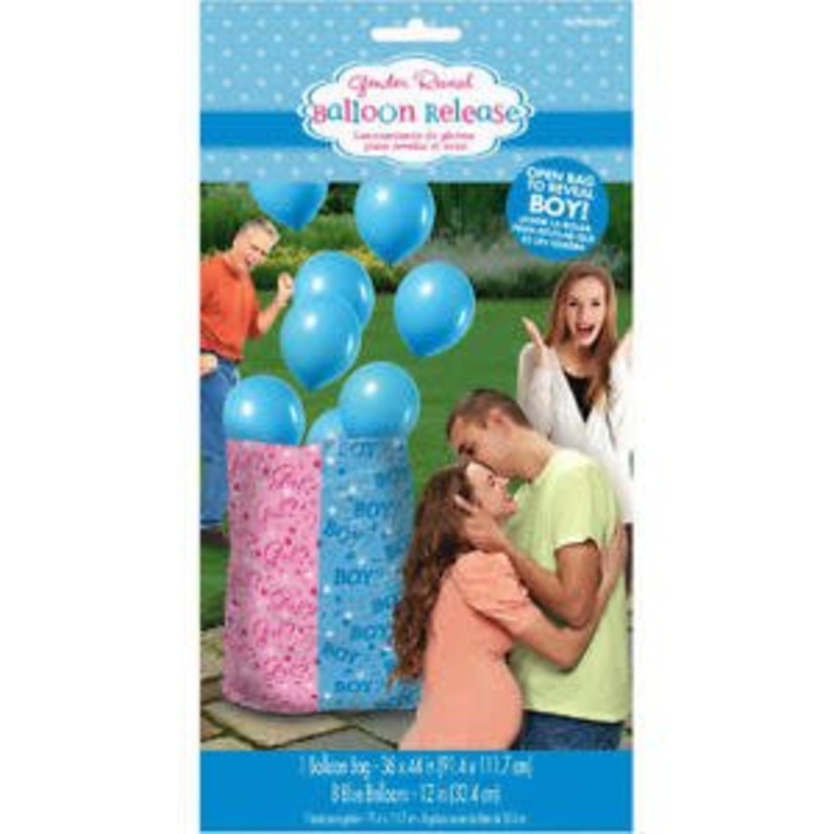 Balloon Release - Baby Shower - Gender Reveal - BOY - 8pcs