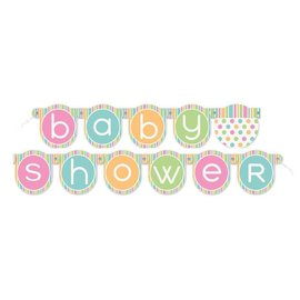 Jointed Banner- Baby Shower- 4.33ft