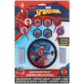 Cake Decorating Kit- Spider-Man- 16pcs