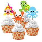 Cupcake Kit-Juvi Ocean (24pcs)