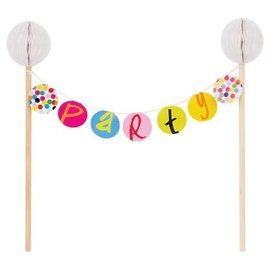 Cake Topper-Bunting Topper-Birthday Dots