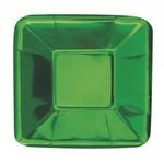 Appetizer Plates-Emerald Green