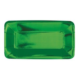 Appetizer Plates-Emerald Green