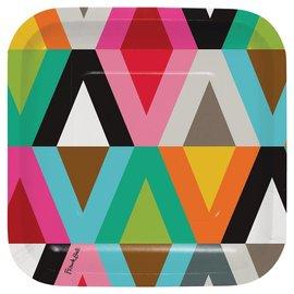 Beverage Paper Plates- Viva (10 ct)