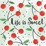 Beverage Napkins- Summer Fruit/ Cherry- 24pk- 3ply