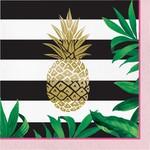 Luncheon Napkins- Pineapple Wedding- 16pk-3ply