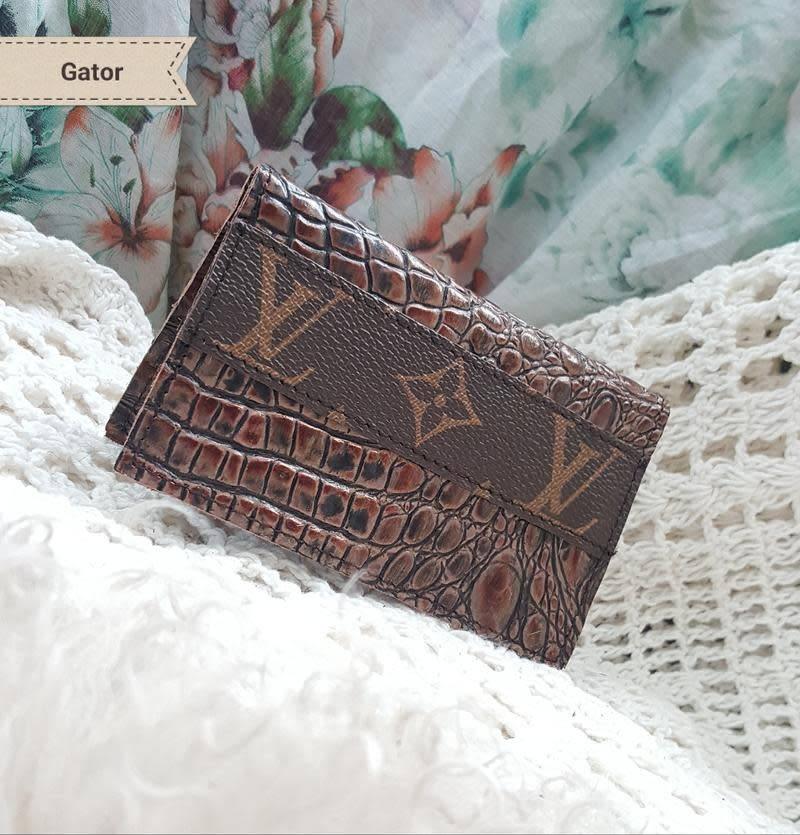 Repurposed Louis Vuitton Credit Card Holder