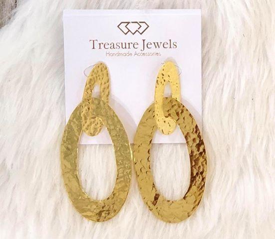 Double Oval Earrings