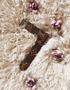 Repurposed Louis Vuitton Apple Watch Band in Monogram