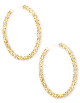 Maggie Large Hoop Earrings