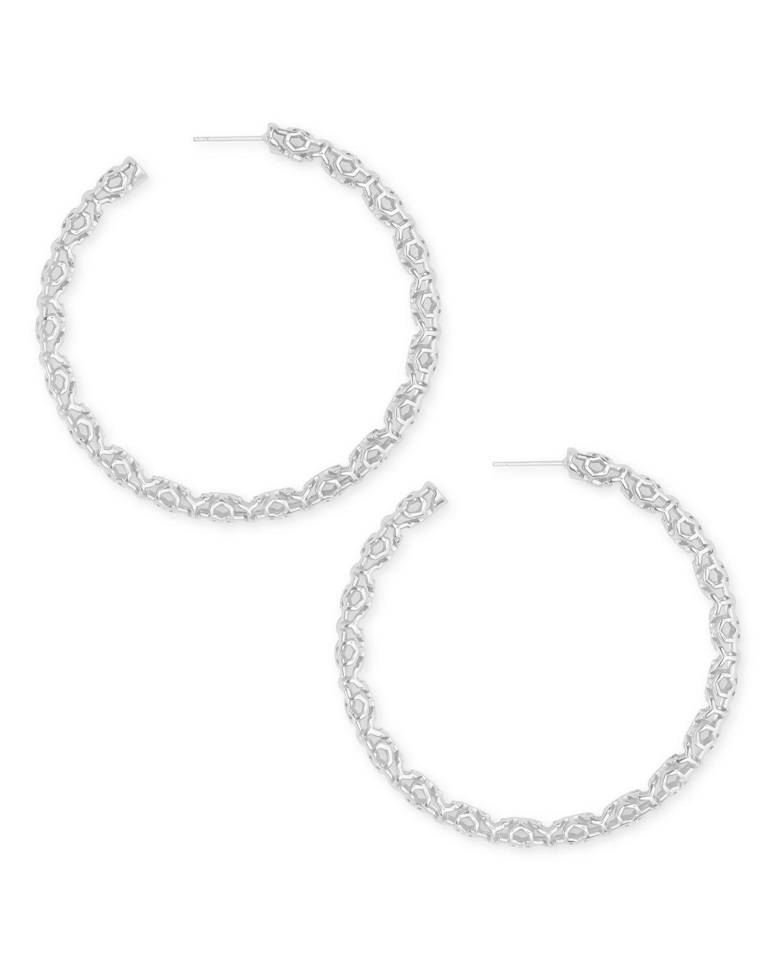 Maggie Large Hoop Earrings