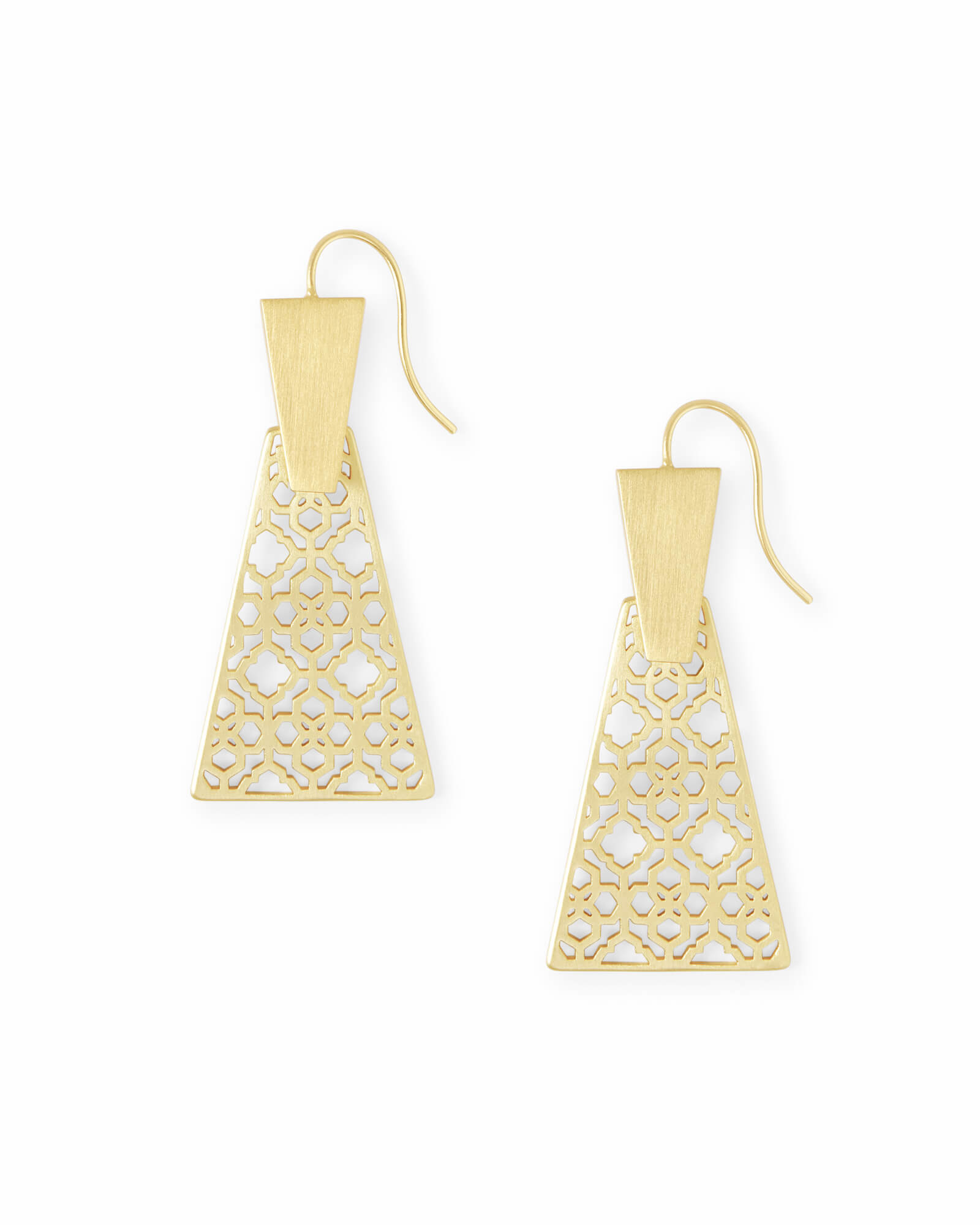 Keerti Filigree Small Drop Earrings