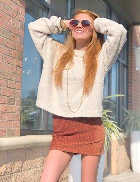 Fuzzy Fun Sweater