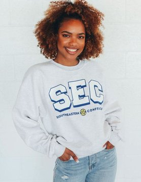SEC Logo Retro Throwback Sweatshirt