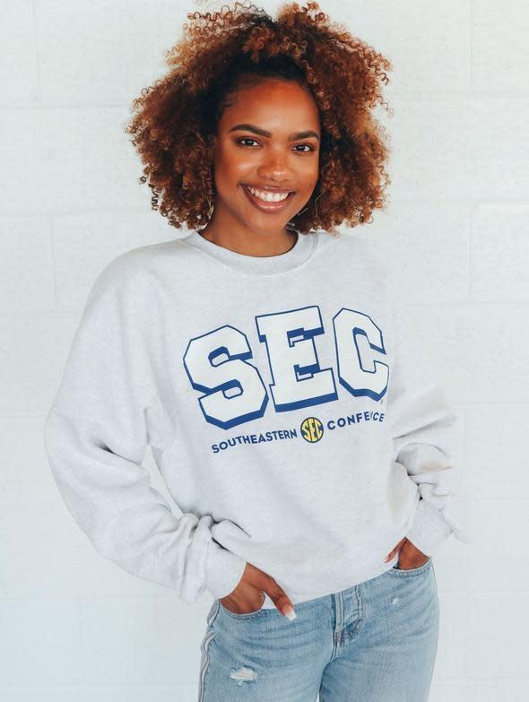 SEC Logo Retro Throwback Sweatshirt